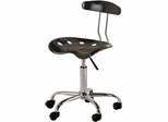 Black Tractor Seat Task Chair
