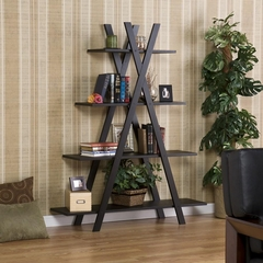"Black ""X"" Etagere - Holly and Martin"