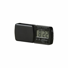 Blackstone Contemporary Travel Alarm Clock - Howard Miller