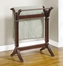 "Blanket Rack - Contemporary ""Merlot"" - Powell Furniture - 383-273"