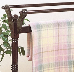 "Blanket Rack - ""Heirloom Cherry"" - Powell Furniture - 441Z"