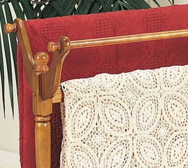 "Blanket Rack - ""Nostalgic Oak"" - Powell Furniture - 442Z"