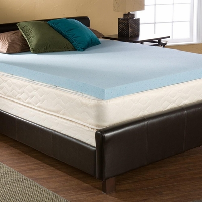 Bliss GEL-Memory Foam Twin 3 inch - Holly and Martin