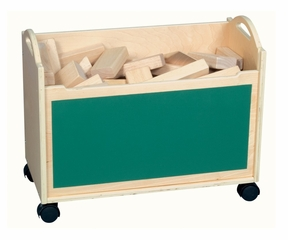 Block Cart in Natural - Guidecraft - G97055