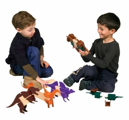 Block Mates Dinosaurs - Guidecraft - G7602