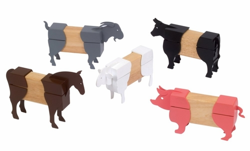 Block Mates Farm Animals - Guidecraft - G7601