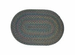 Blossom Teal Braided Rugs - Rhody Rug