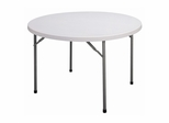 "Blow Molded 48"" Round Food Service Table - Correll Furniture - FS48R"