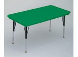 "Blow-Molded Activity Table 24"" x 48"" - Correll Office Furniture - AR2448REC"