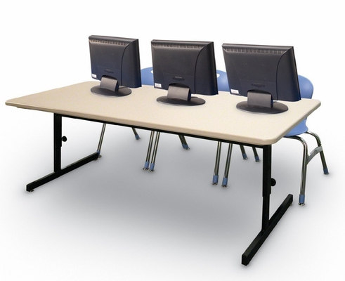 Blow-Molded Adjustable Height Computer Table 30