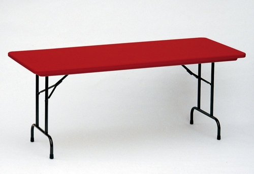 Blow-Molded Fixed Height Folding Table 24