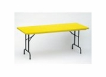 "Blow-Molded Fixed Height Folding Table 30"" x 72"" - Correll Office Furniture - R3072-C"