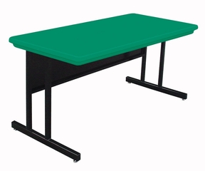 "Blow-Molded Keyboard Height Computer Table 30"" x 60"" - Correll Office Furniture -"