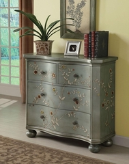 Blue Four Drawer Accent Cabinet - 950121