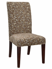 "Blue Green, Red Tapestry with Raised Brown Chenille Leaves ""Slip Over"" (Fits 741-440 Chair) - Powell Furniture - 741-222Z"