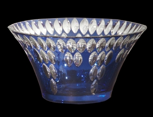 Blue Marble Bowl - Dale Tiffany - GA80085