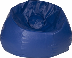 Blue Round Bean Bag