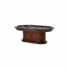 Bonavista Game Table in Rustic Cherry - Howard Miller