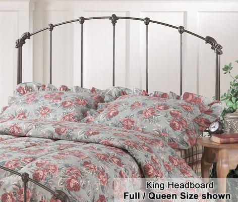 Bonita Eastern King Size Metal Headboard - 346-670