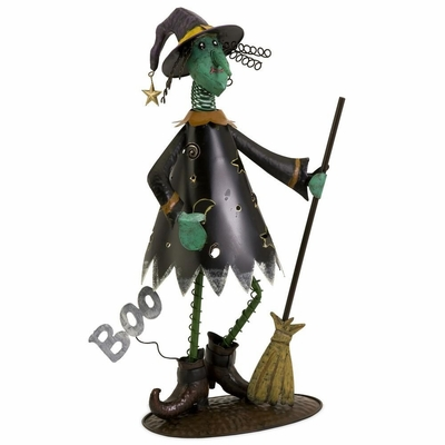 Boo Witch with Broom - IMAX - 59779