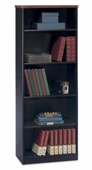 Bookcase-5 Shelf - Series A Hansen Cherry Collection - Bush Office Furniture - WC94465