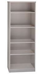 Bookcase 5-Shelf - Series A Pewter Collection - Bush Office Furniture - WC14565