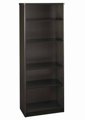 Bookcase-5 Shelf - Series A Walnut Collection - Bush Office Furniture - WC25565