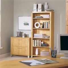 Bookcase and Lateral File Set - Somerset Collection - Bush Office Furniture - WC81465-80