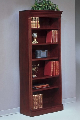 Bookcase DMI - Open Bookcase (Center) - Traditional Office Furniture - 7990-108