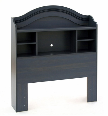 Bookcase Headboard in Blueberry - South Shore Furniture - 3294098