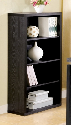 Bookcase in Black - Coaster
