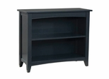 Bookcase in Black - Shaker Cottage - Alaterre - ASCA07BL