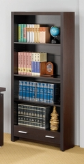 Bookcase in Cappuccino - Coaster