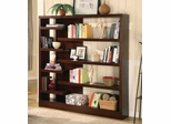 Bookcase in Cappuccino - Coaster - COAST-18002881