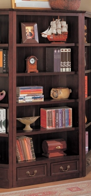 Bookcase in Cappuccino - Coaster - COAST-18003751