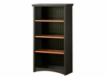 Bookcase in Spice Wood/Ebony - South Shore Furniture - 7378767