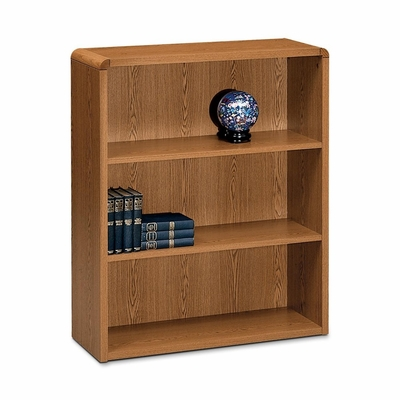 Bookcase - Medium Oak - HON10653MM