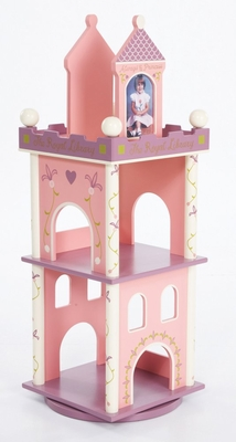 Bookcase - Princess Revolving Bookcase - LOD20044