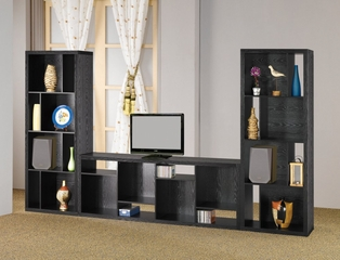 Bookcase Unit in Black - Coaster