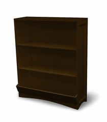 Bookcase with 2 Shelves in Espresso Brown - RiverRidge - 02-027