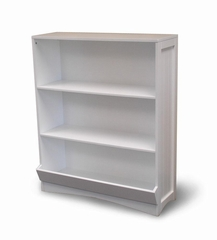 Bookcase with 2 Shelves in White - RiverRidge - 02-021
