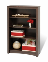 Bookcase with 4 Shelves in Espresso - Prepac Furniture - EDL-3248