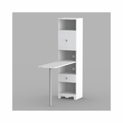 Bookcase with Desk Panel on Adjustable leg - Nexera Furniture