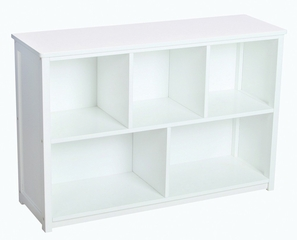 Bookshelf - Classic White Bookshelf in White Matte - Guidecraft - G85707