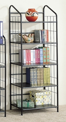 Bookshelf in Black - Coaster