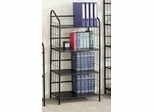 Bookshelf in Black - Coaster - COAST-128931