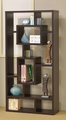 Bookshelf with Rectangular Shelves - 800259