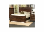 Boone Wood Bed Distressed Dark Oak - Largo - LARGO-ST-BOONE-BED