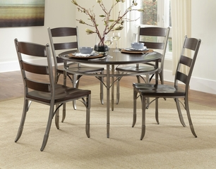 Bordbeaux 5-Piece Dining Set in Birch - Home Styles - 5052-318