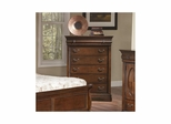 Bordeaux 6 Drawer Chest Brown Cherry - Largo - LARGO-ST-B4300-30